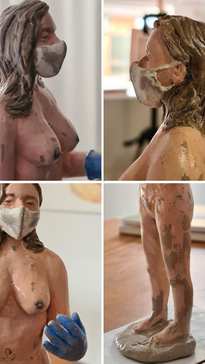 Desnuda frente al virus
